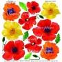 Pellicola stampata poppy