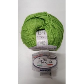 Lana MON AMOUR verde mela 37