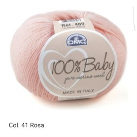 100% BABY col. rosa 41
