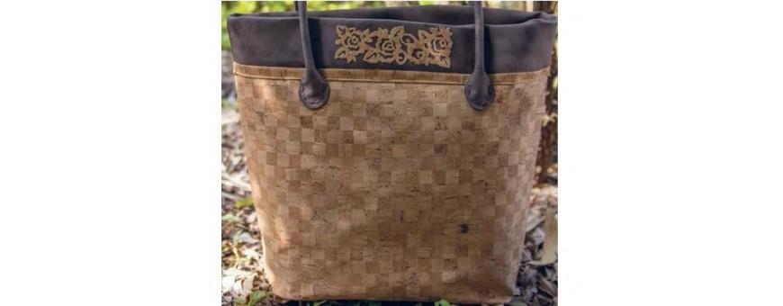 tessuto sughero per realizzare borse e decorazioni
