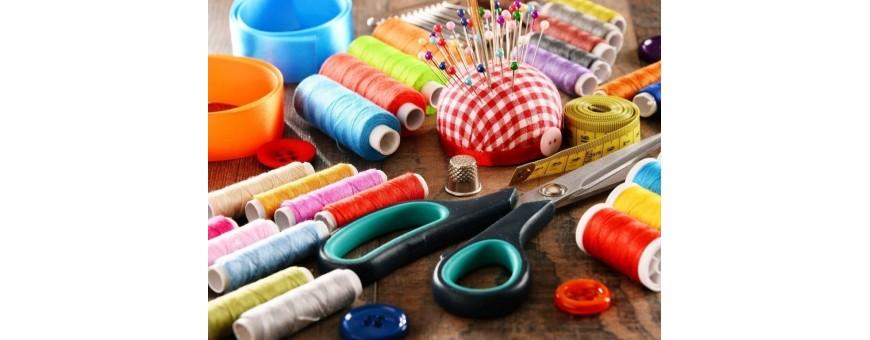Articoli di merceria, prodotti per la riparazione, termoadesivi senza cucire