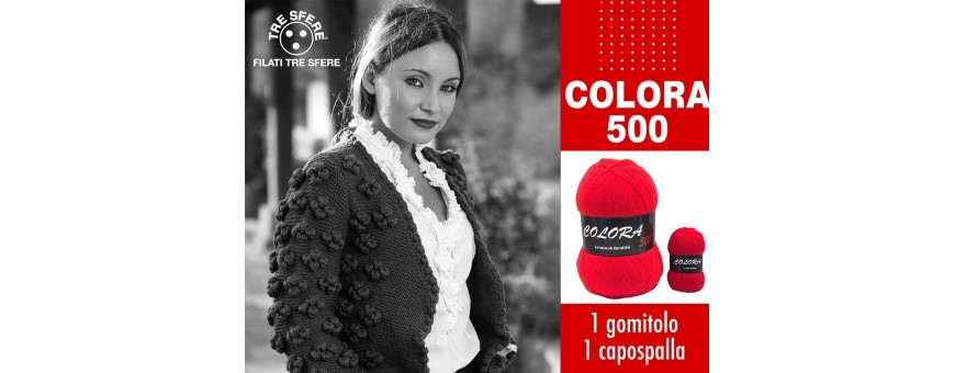ACRILICO COLORA 500GR